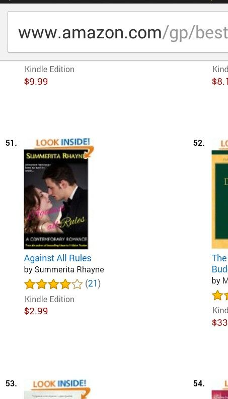 #AgainstAllRules is at no. 51 in #Bestseller #Amazon #Asian digital  http://www.amazon.com/gp/product/B00MY2QVRS #romance #fiction #contemporaryromance