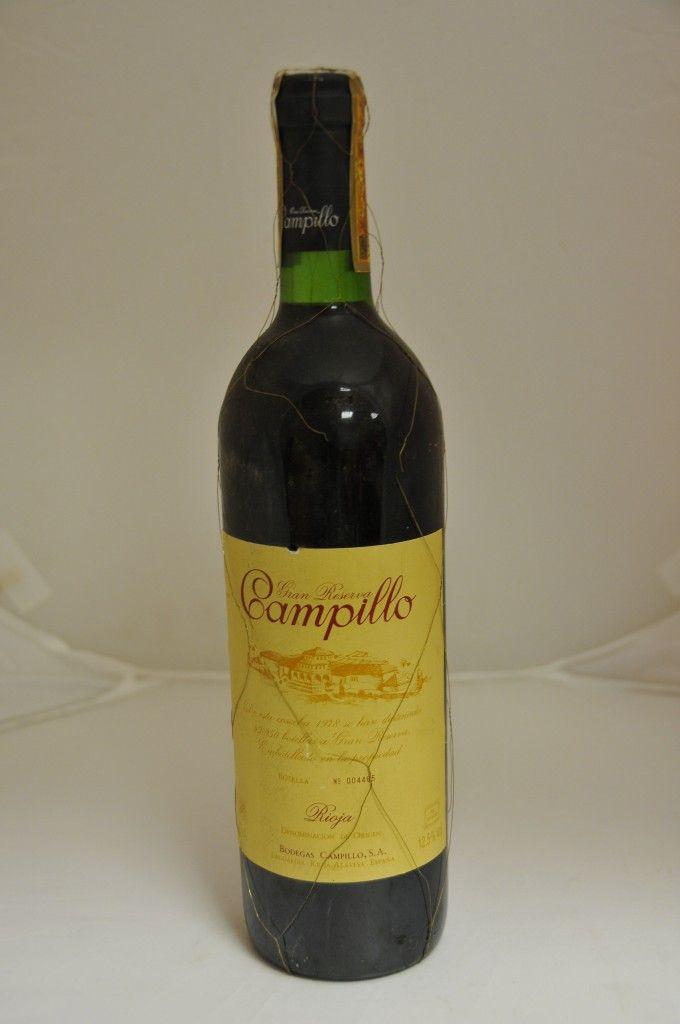 Bodega: Bodegas Campillo D.O./Zona: D.O.Ca Rioja País: España