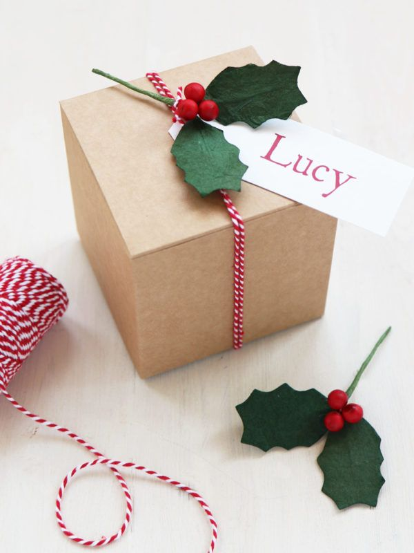 Diy Christmas Gift Box Small Gift Box From Paper Tree Small Christmas Gifts Xmas Gift Wrap Diy Christmas Gifts