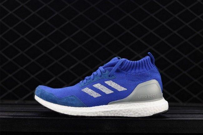 fbc3b83937e81 adidas Ultra Boost Mid Run Thru Time Blue Footwear White For Sale ...