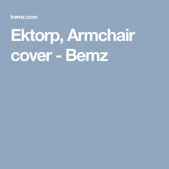 Ektorp, Armchair cover  - Bemz