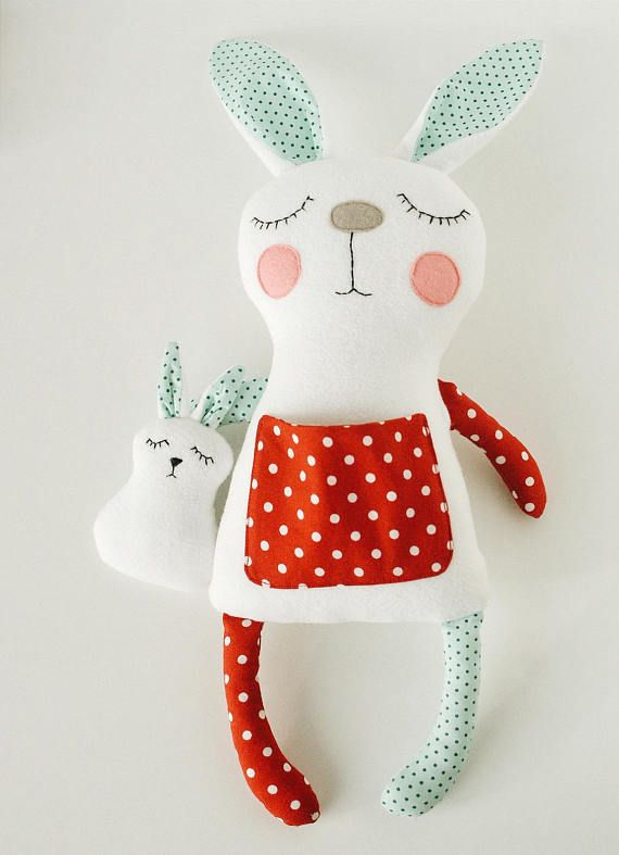 A nice bunny with baby is an ideal project for beginners and for children's cr…