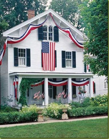 I love dressed up porches!