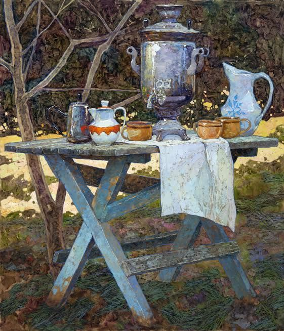 Sarazhin - Disappearing Evening. Nobody paints like the Russians!