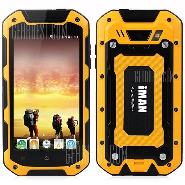 iMAN i5800 Android 4.4 3G Smartphone with 4.5 inch HD IPS Screen $219.55