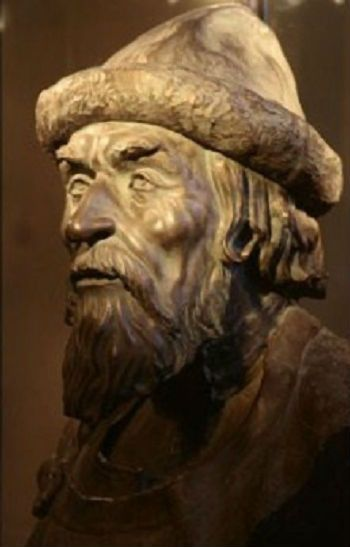 Grand Prince Yaroslav the Wise (circa 978 - 1054). Forensic facial reconstruction by Mikhail M. Gerasimov. #ancient #Russian #history