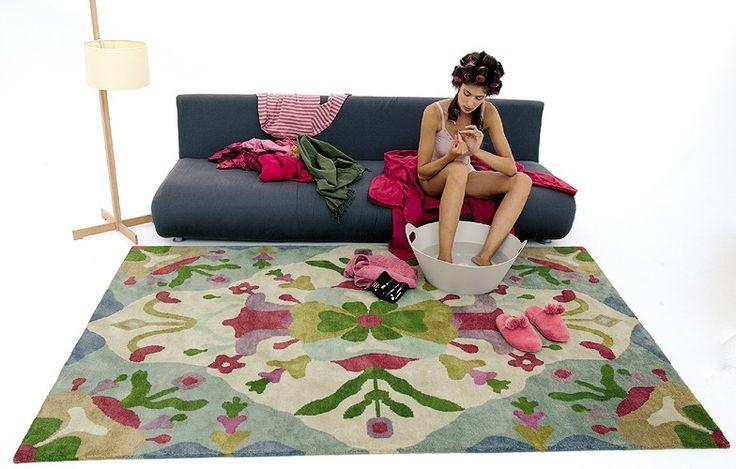 #excll #дизайнинтерьера #решения Авторские ковры от Nanimarquina | Excellence Group - решения