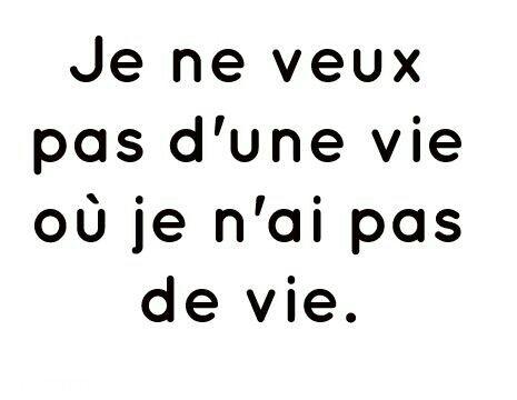 C'est la vie ...