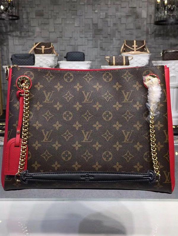 Louis Vuitton Monogram Canvas Surene MM Cherry M43773  759b109e98