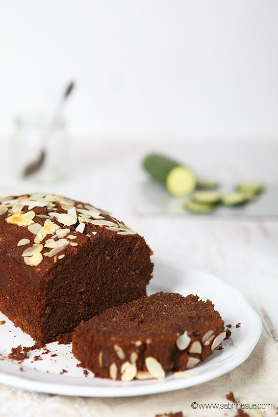 glutenfrei - Zucchini Schoko-Mandel-Kuchen