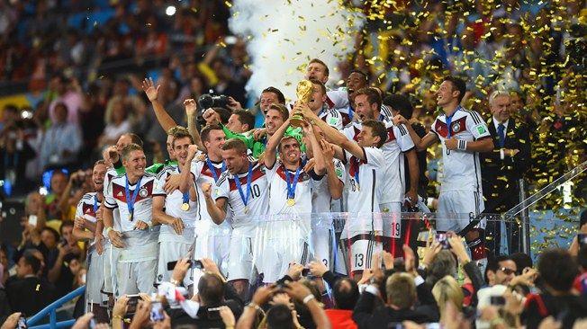 Alemania Campeón, merecido.
