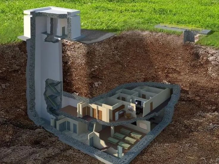 DIY Underground Bunker Plans If You're Going To Bug In