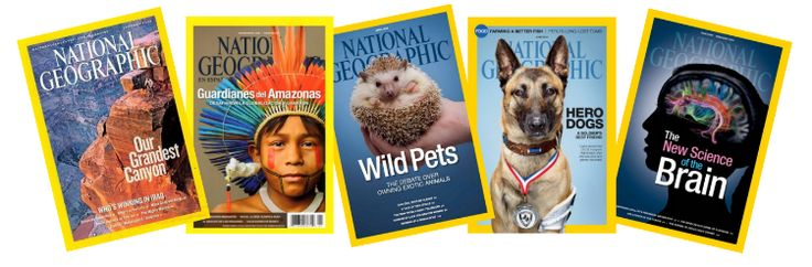 Get a subscription to National Geographic magazine for only $15 per year!