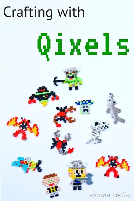 Qixels - my new favorite craft! What would your kids create with these ...