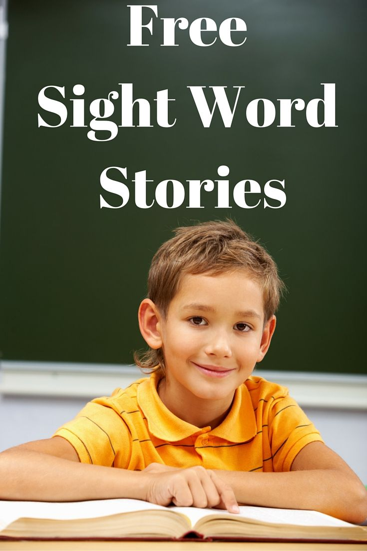 Free Sight Word Stories | Dolch Word Activities | Readyteacher.com