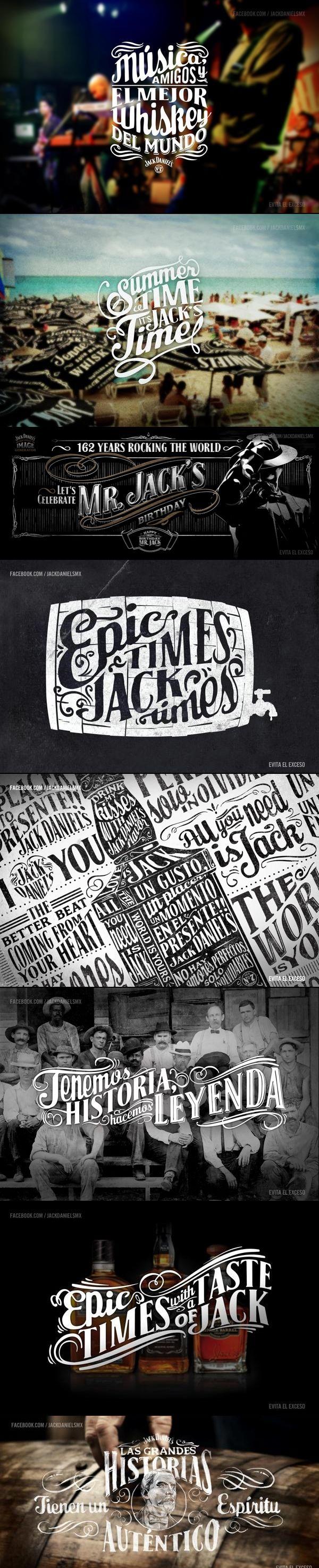 Abraham García Sánchez para la marca de whiskey estadounidense Jack Daniel's en redes sociales.