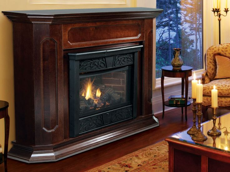 Ventfree virtual fireplace