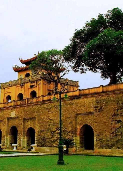 IMPERIAL CITADEL OF THANG LONG, Vietnam: was originally built on the remains of a Chinese fortress to mark the independence of the state of Dai Viet. It was the centre of regional political power for almost 13 centuries without interruption. The buildings reflect a unique South-East Asian culture at the crossroads between China in the north & the ancient Kingdom of Champa in the south. Built in 1812, the Flag Tower of Hanoi, unlike many other structures, was spared during French colonial…