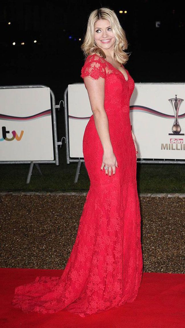 Holly Willoughby wows in Suzanne Neville gown at Military Awards