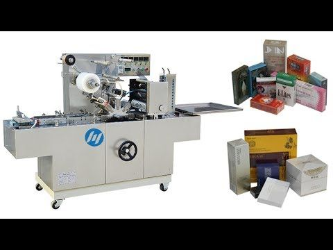 Automatic Transparent Film Cellophane Wrapping Machine