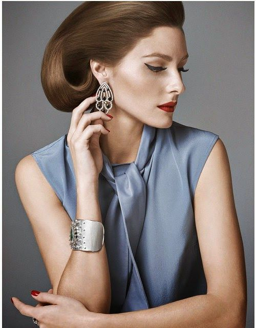 The Olivia Palermo Lookbook : Olivia Palermo For Vogue Brasil