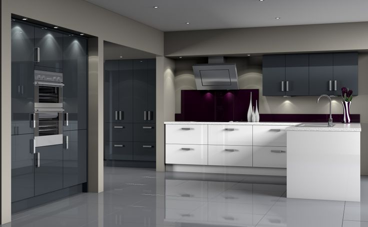 22 best Modern Kitchens images on Pinterest | Contemporary unit ...