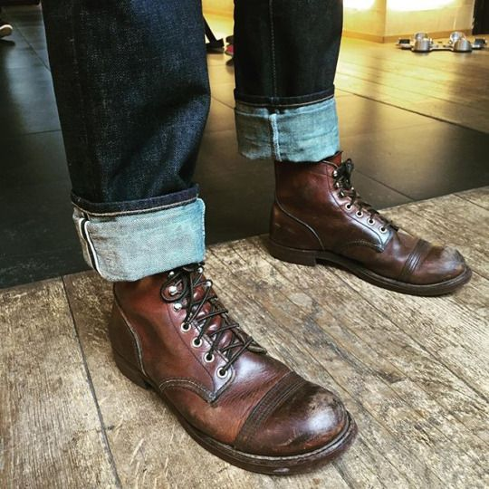I Want My Corcoran Boots Broken In Like This Spruced