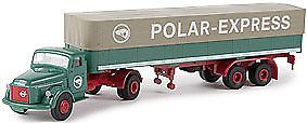 Figures and People 11647: Brekina Automodelle 85609 1:87 Volvo N88 Tractor Low-Side Trailer-Polar Express -> BUY IT NOW ONLY: $31.49 on eBay!