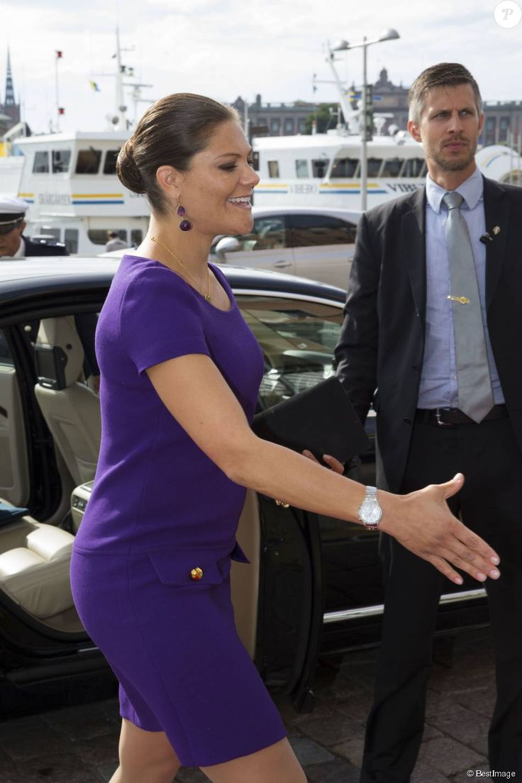 On September 14, 2015,Crown Princess Victoria and Prince Daniel attended the French-Swedish Business Forum, held at the Grand Hôtel in Stockholm, Sweden.