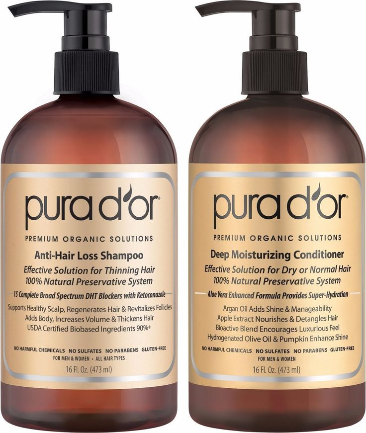 Hair Loss Treatments: Gold Label Anti Hair Loss Shampoo And New Gold Label Deep Moisturizing Conditioner BUY IT NOW ONLY: $50.99