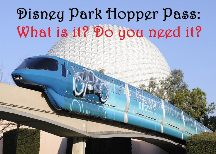 Is a Park Hopper Pass really necessary?   Check out our pros and cons of this popular park pass at http://mousehints.com/what-is-a-disney-park-hopper-pass