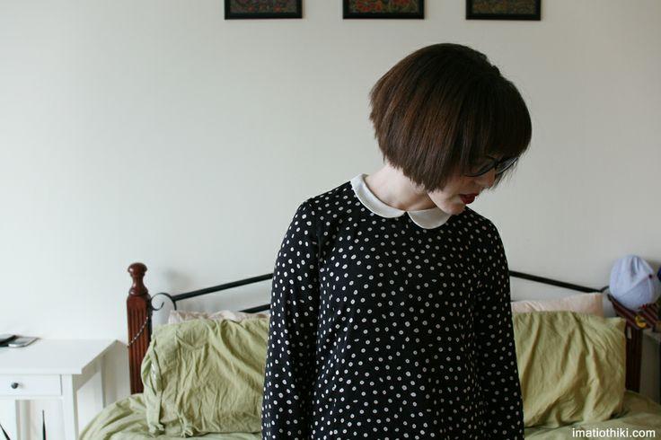 ashley bess lane polka dot dress