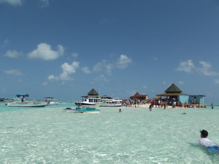 Maravilloso Mar Caribe. Acuario, Isla San Andrés, Colombia