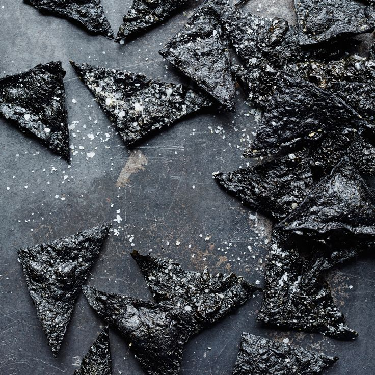 F&W's Kay Chun bakes stacked sheets of nori until they become a supercrunchy, addictive snack.  Slideshow: More Bar Snack Recipes ...