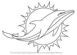 Miami Dolphins logo blank