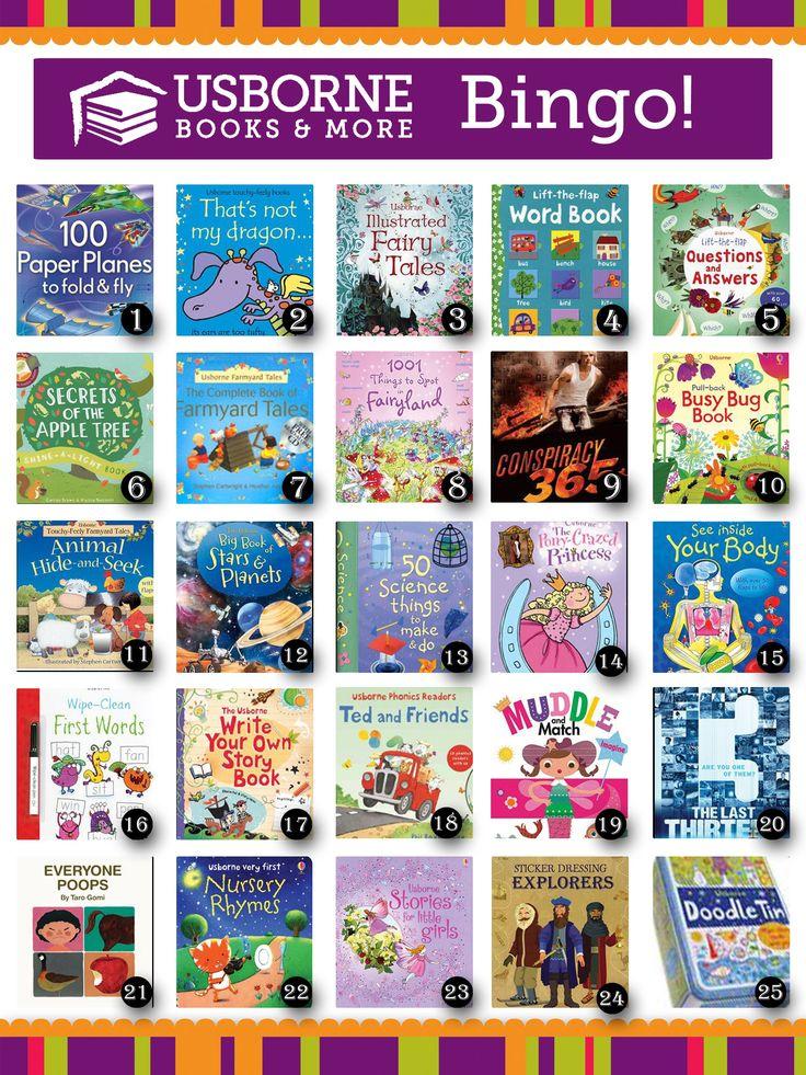 Books bingo edit