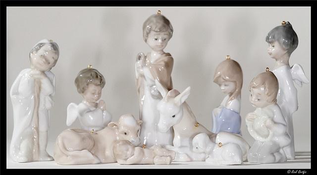 Lladro Nativity Set....