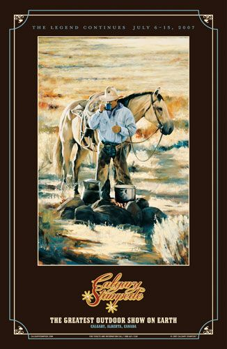 calgary stampede poster - 2007