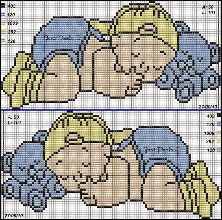 Ponto Cruz e Mais: Bebês!!