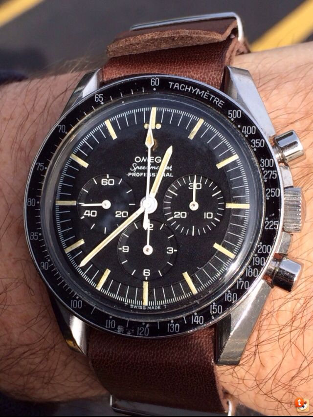 Vintage Omega Speedmaster Professional Chronograph Powered By Calibre 321 Circa 1967