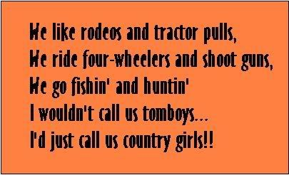 always a country girl at heart :)