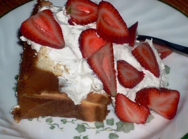 gluten free angel food cake mix recipes