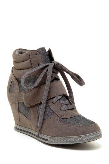 Neutral Sneaker Wedge