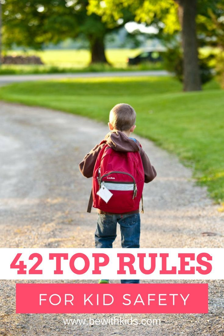 Step-by-step checklist of 42 top rules for teaching kids safety with strangers