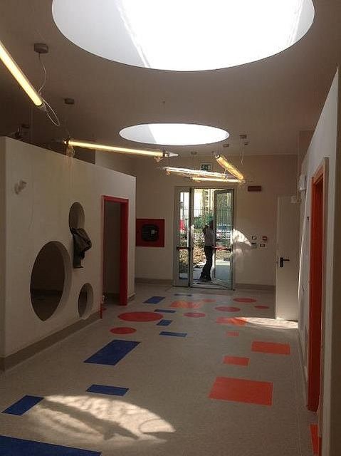 Here's a preview of some images of the entrance of the new #kindergarten we are doing in #Milan ..  GUIDO, such as Play, Join, Learning, Fun and Spot by Studio Garuglieri  Contact us on the site or on www.illaboratoriodiarchitettura.it www.studiogaruglieri.it