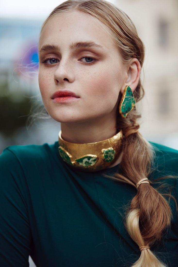 CLEAN X HASLA Photographer: Renate Torseth Model: Sari Designer/Stylist: Christina Ledang Hairstylist: Sigrid Hesla Breie Makeupartist: Charlotte Wold