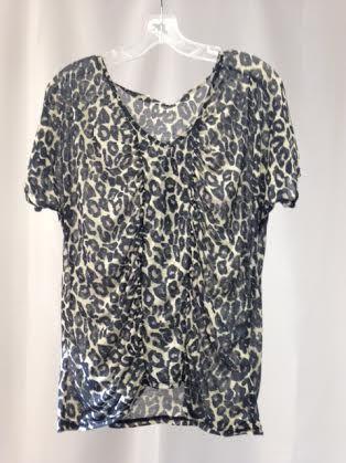 Mink Pink Leopard Blouse 117