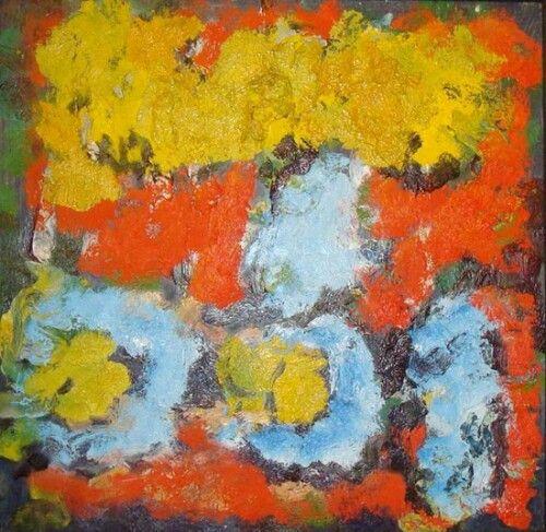 Арон Бух Желтые цветы