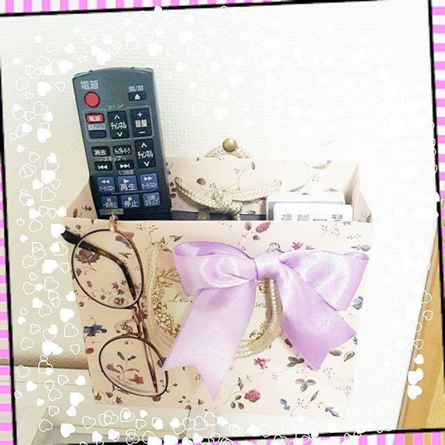最っ高にかわいいチャンネルBOXでけた❤❤❤ #誕プレ #laduree #ショッパー #チャンネルBOX #かわいい