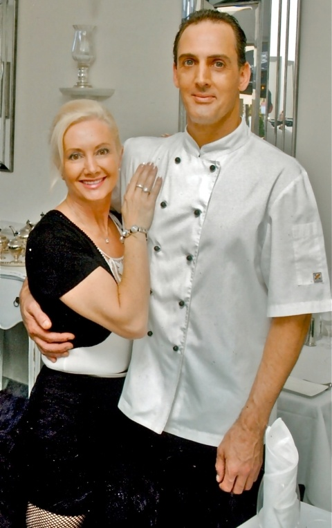 Cheryl and Brad from Allure on Currumbin, Queensland's top rated restaurant.
